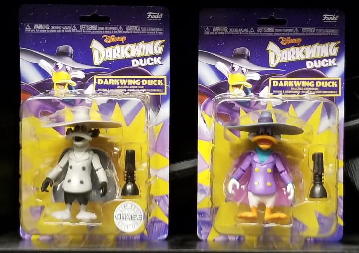 New Darkwing Duck Action Figures