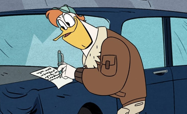 Ducktales Launchpad S Notepad Jokes To Quake You Up