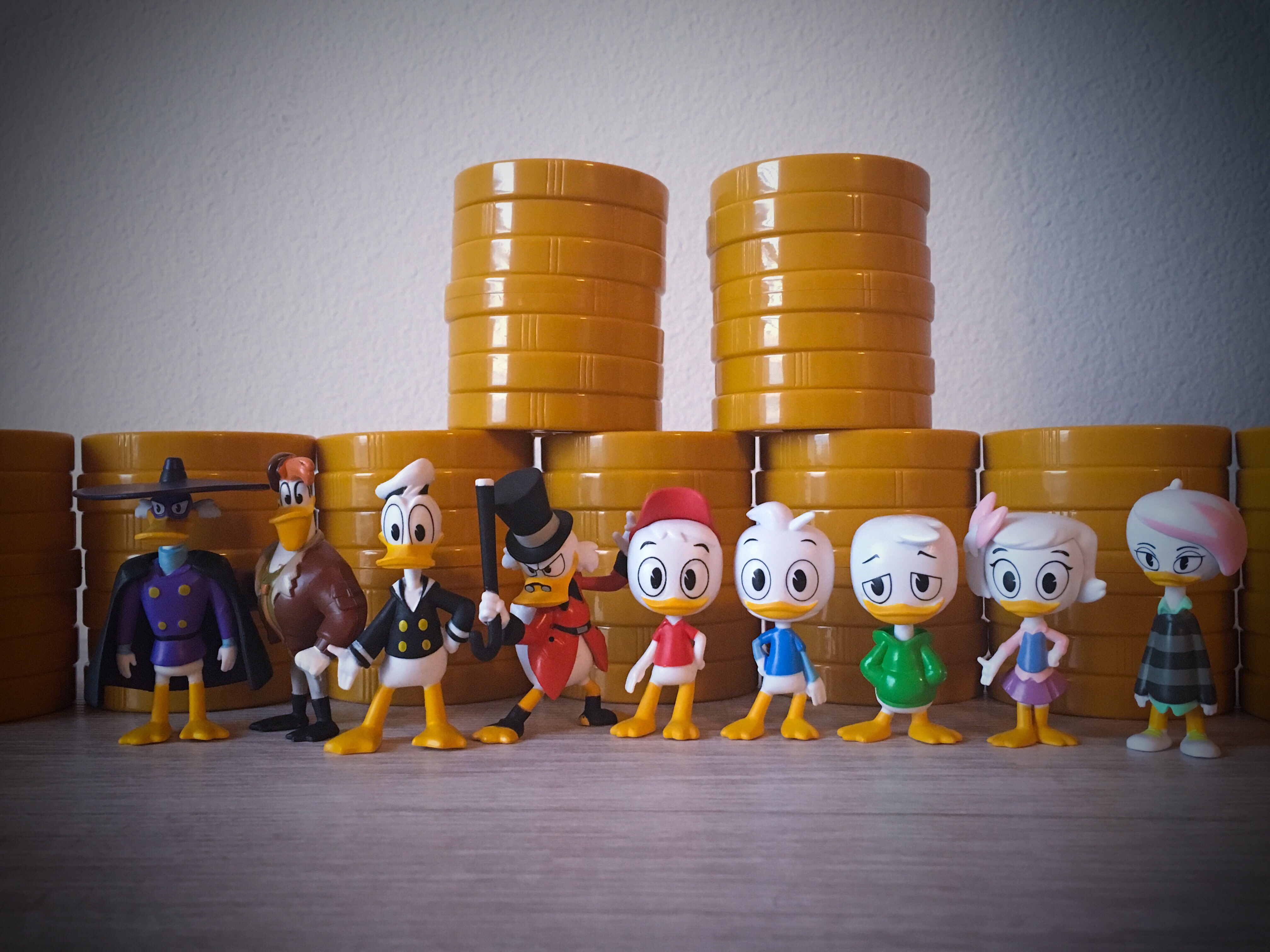 "Disney DuckTales Money Stacks Blind Mystery Mini Figures PhatMojo /""SCROOGE/"""