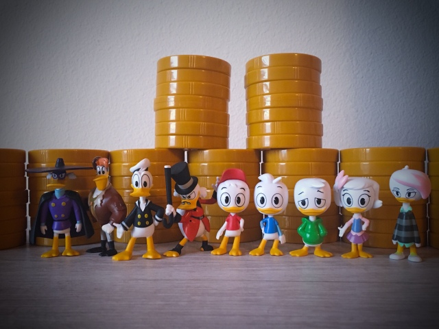 Ducktales Money Stacks Minifigure Lena