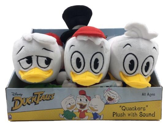 Dewey Louie Huey Ducktales Plush