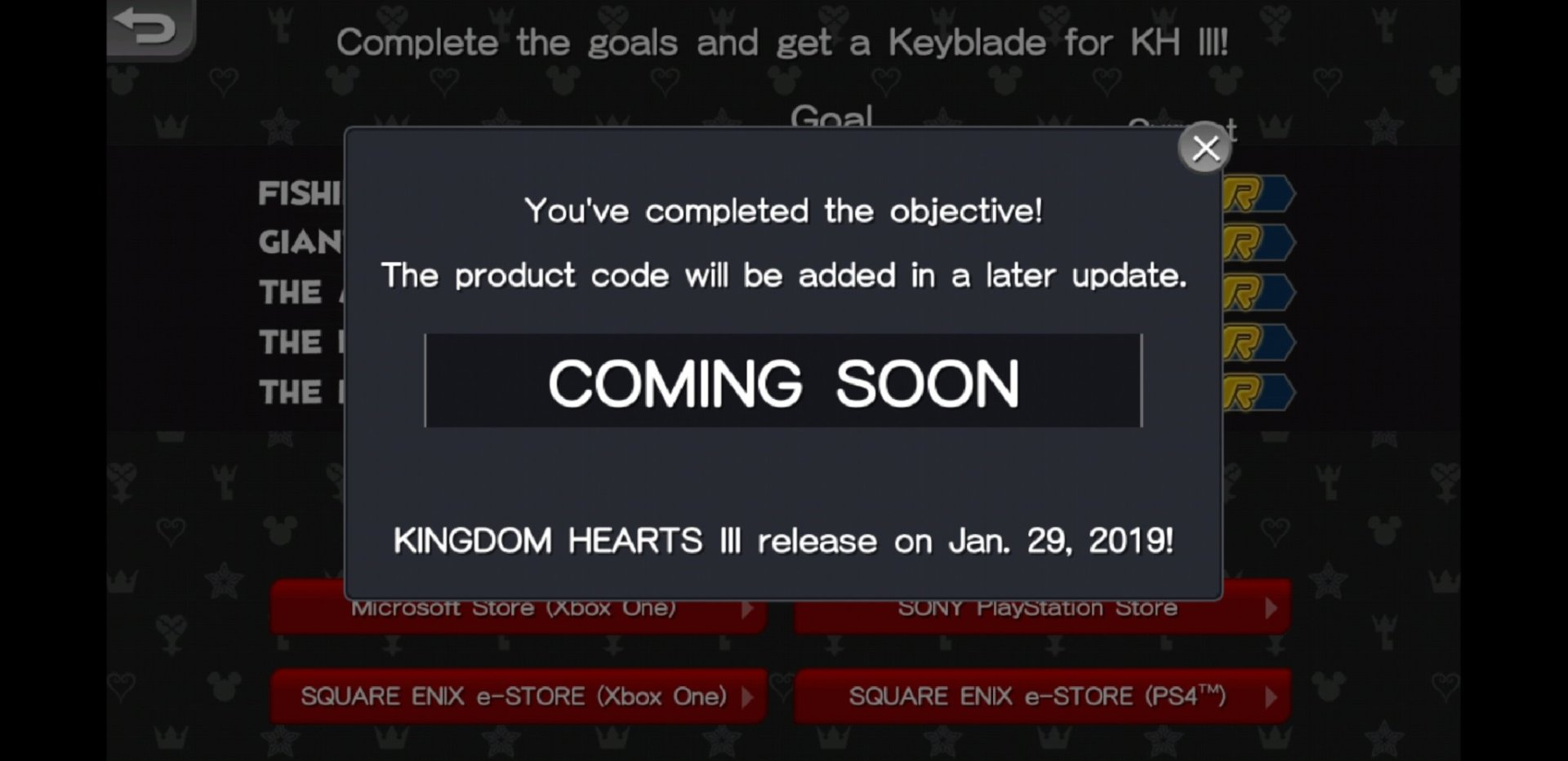 Kingdom Hearts Mobile Game: How to unlock the Keyblade DLC for KH
