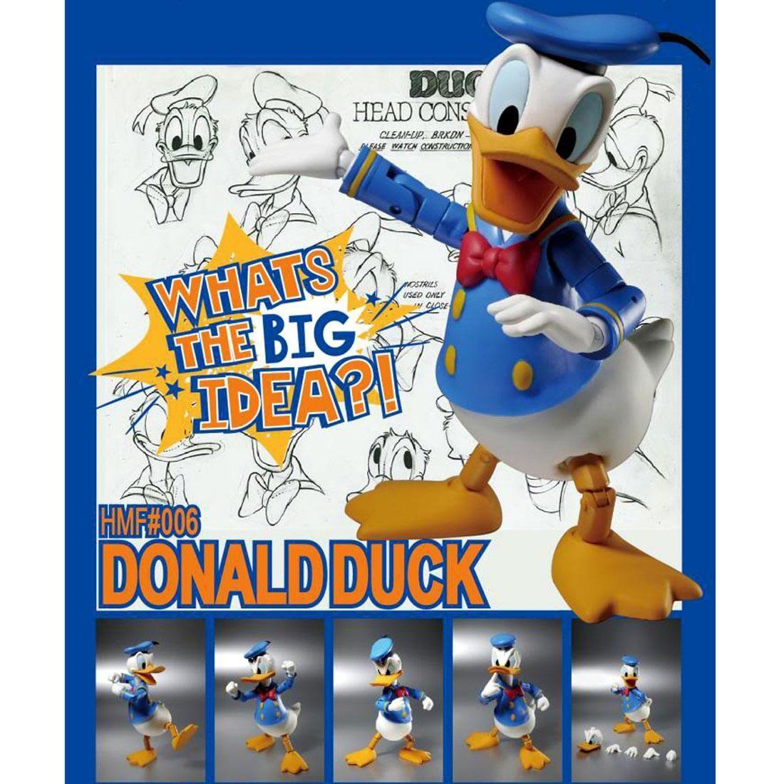 Herocross ~ HMF #060 Disney Scrooge McDuck Figure