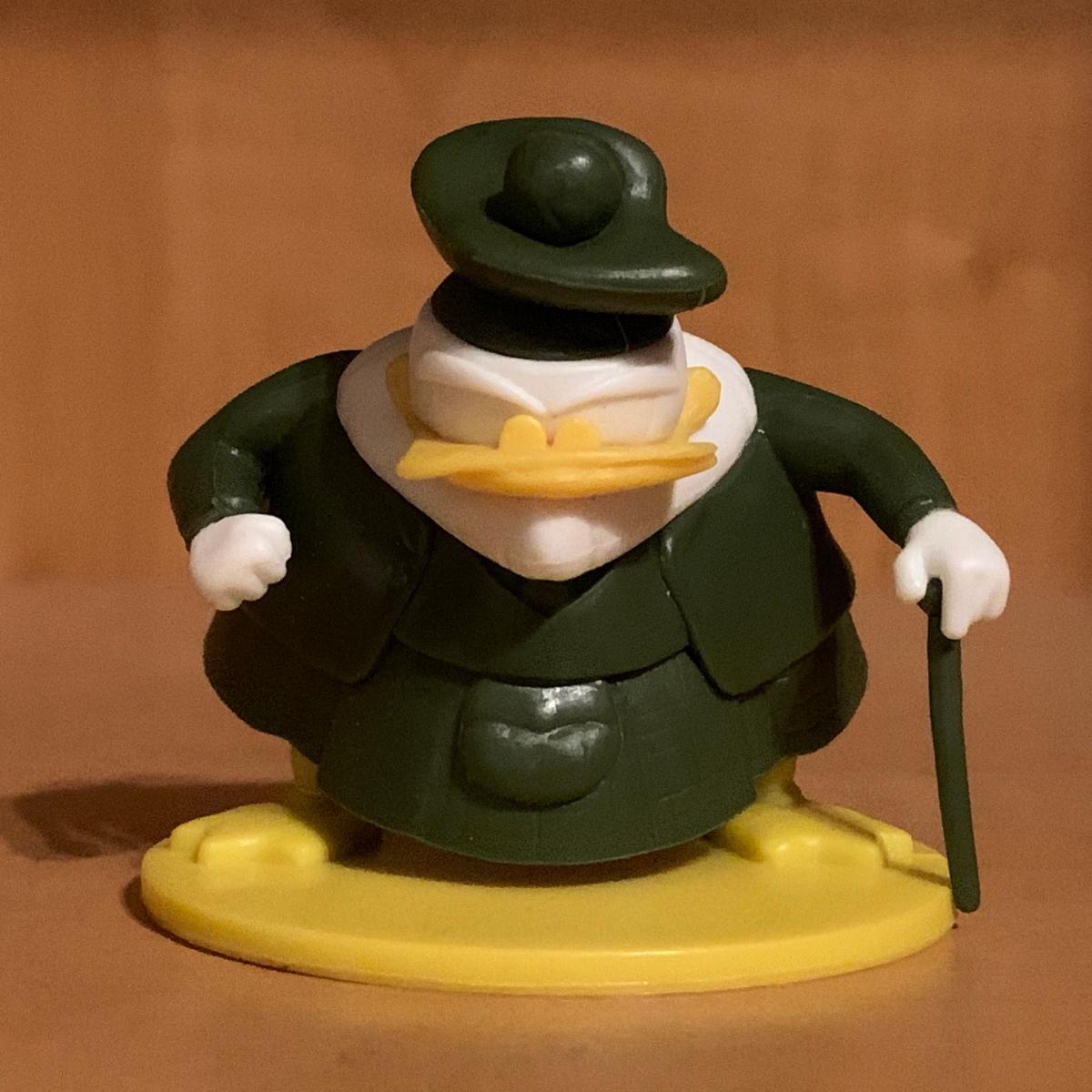 FLINTHEART GLOMGOLD ACTION FIGURE ducktales NEW disney toy phat mojo