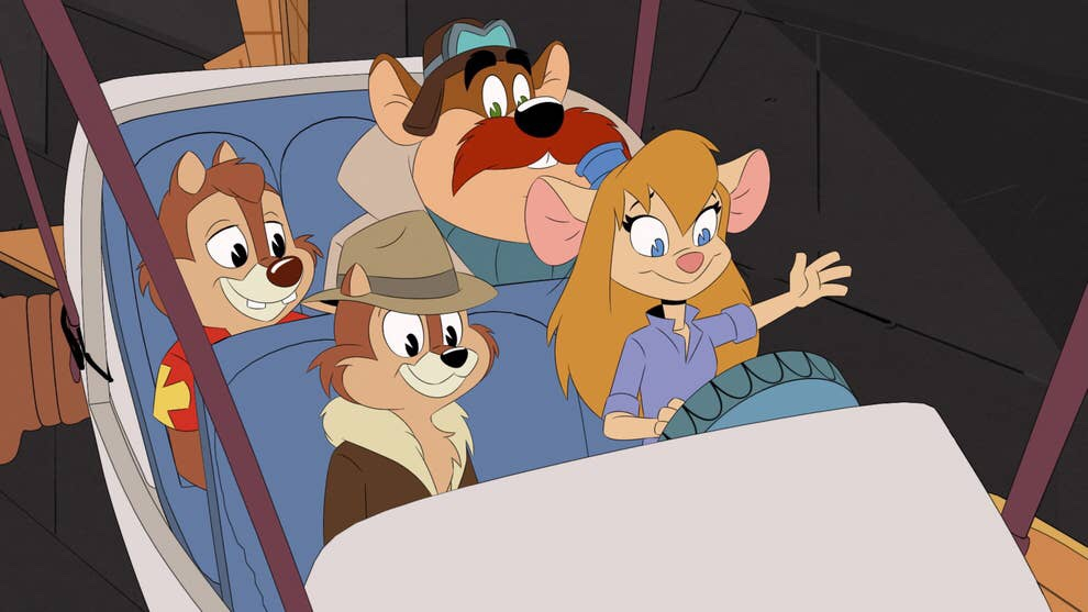 Rescue Rangers Cameo in DuckTales Season 3, Episode 3, Expanding the Disney Afternoon Universe